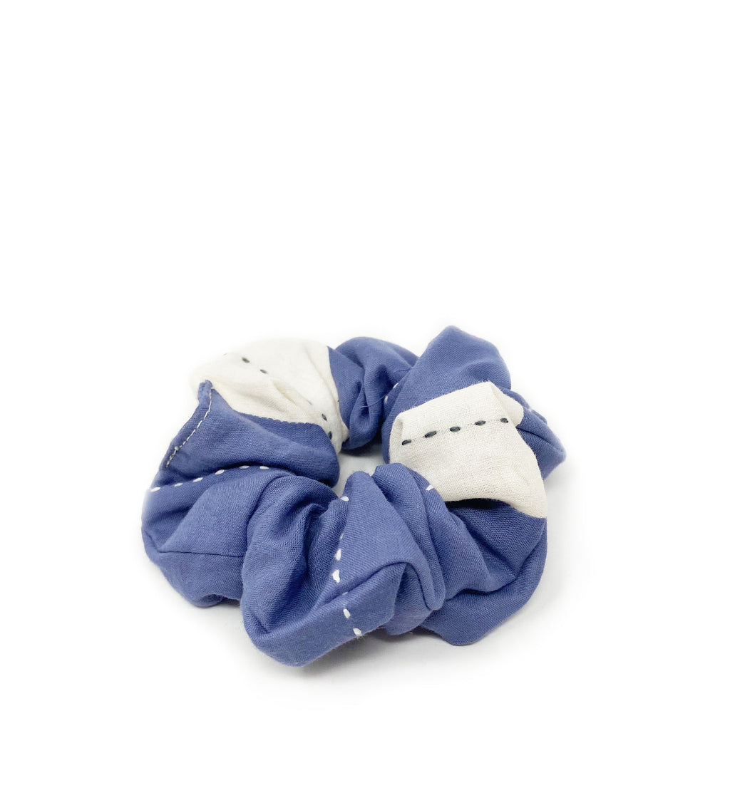 Stripe Scrunchie: Slate