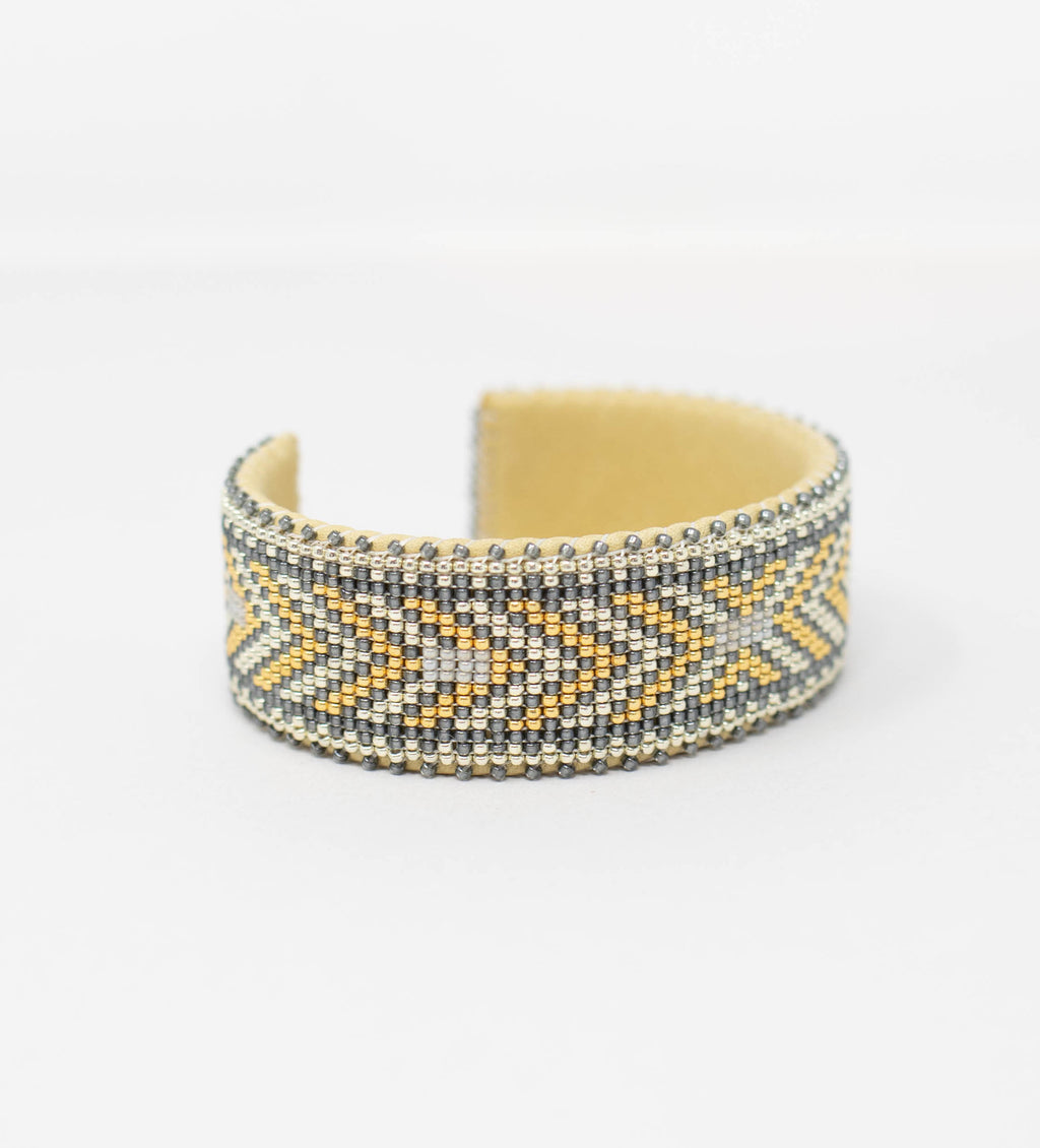 Andrea Large Glass Cuff