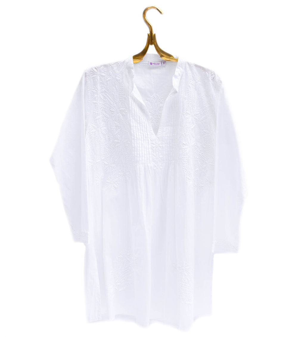 Anisha Tunic: White