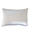 Azure Velvet Ikat Pillow: Rectangle