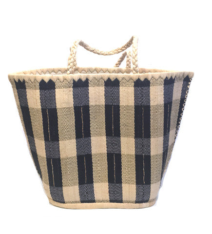 Plaid Vetiver Bag