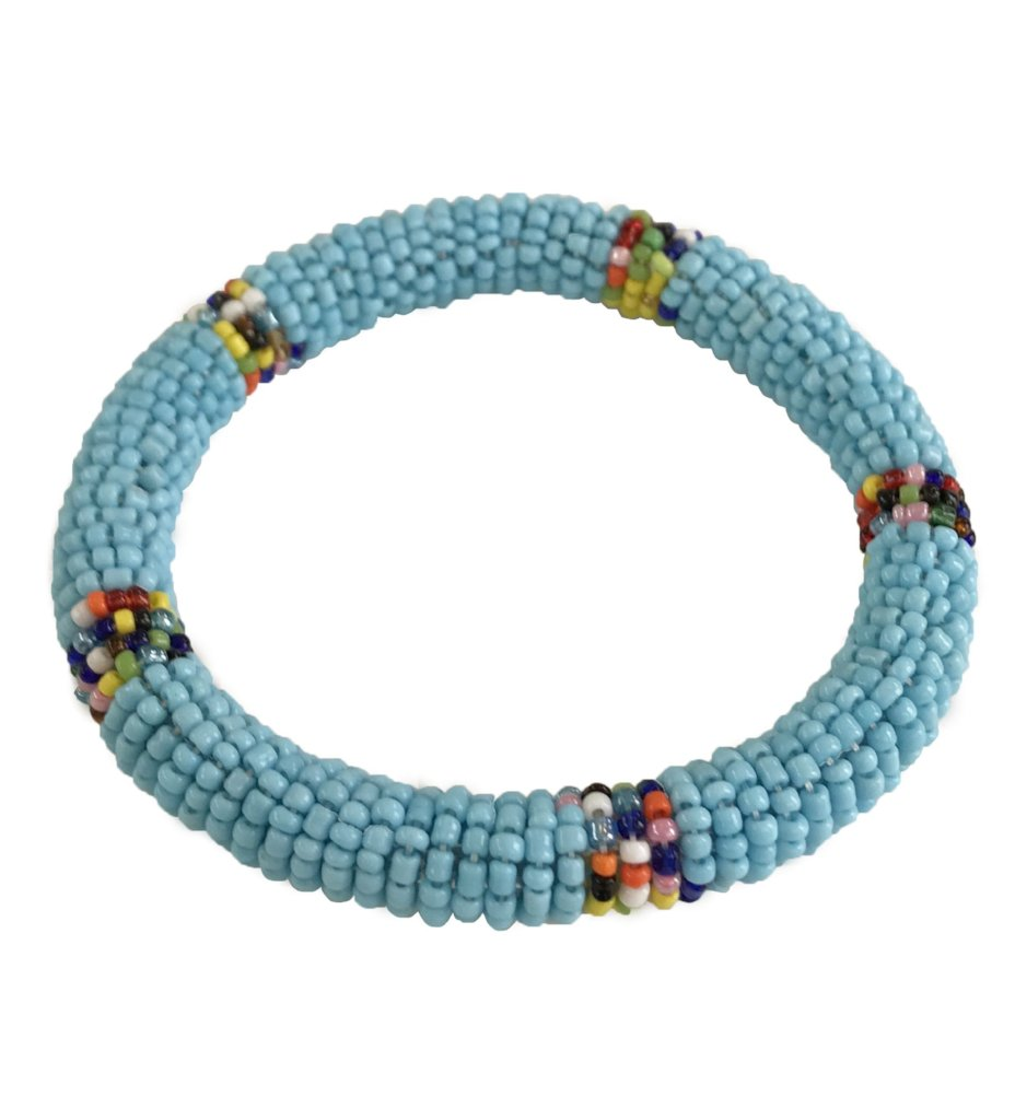 Maasai Small Beaded Bangle