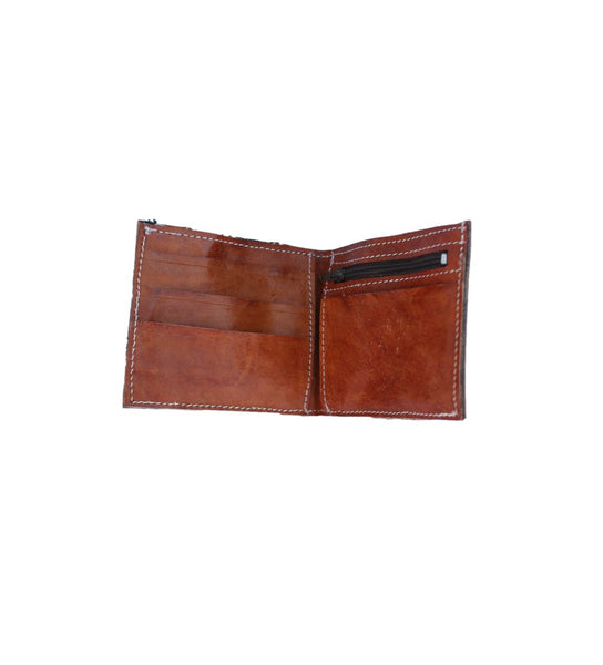 Bifold Wallet: Tan