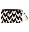 Embroidered Clutch: Graphic