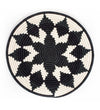 White Beaded Coaster Set