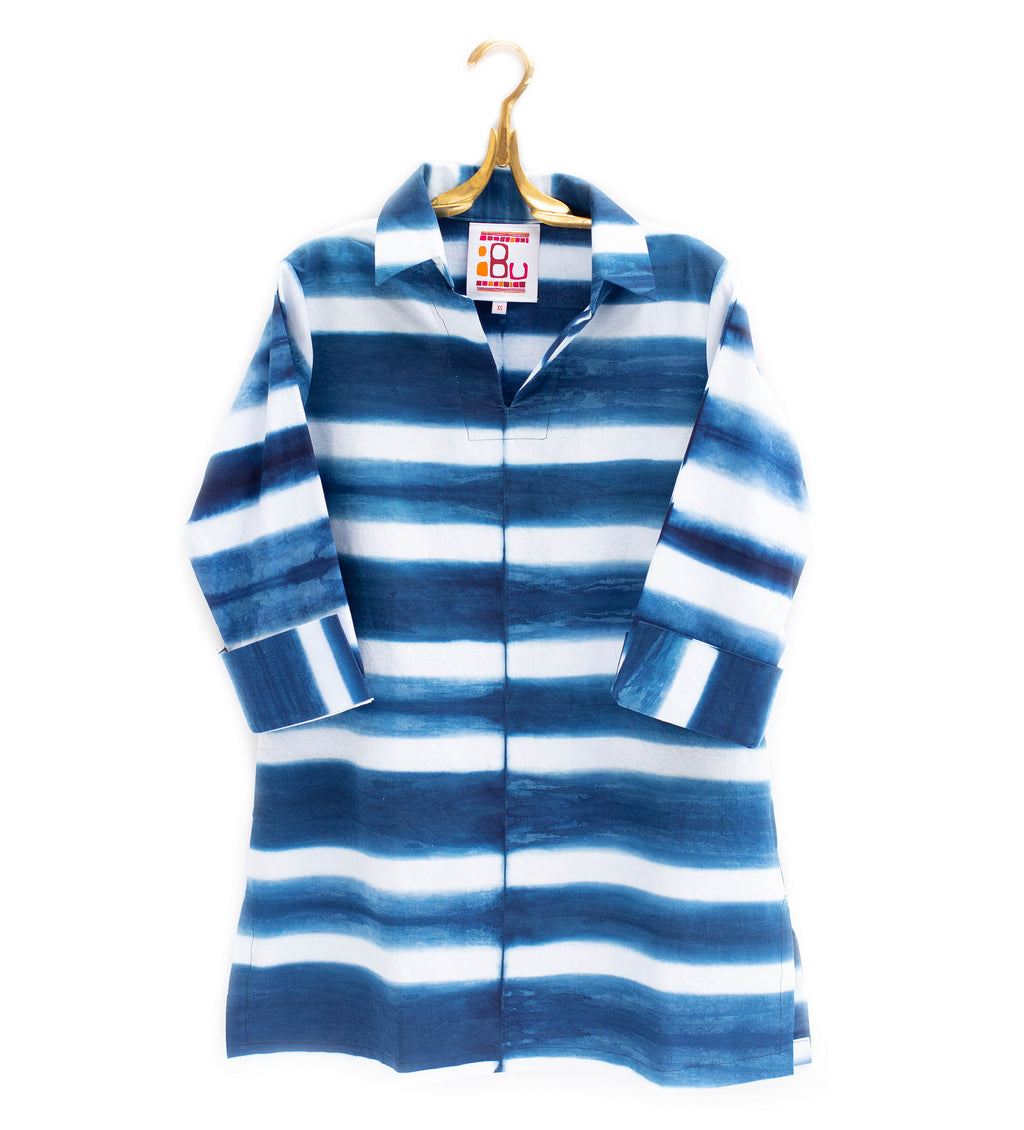 Bluetiful Indigo Stripe Tunic