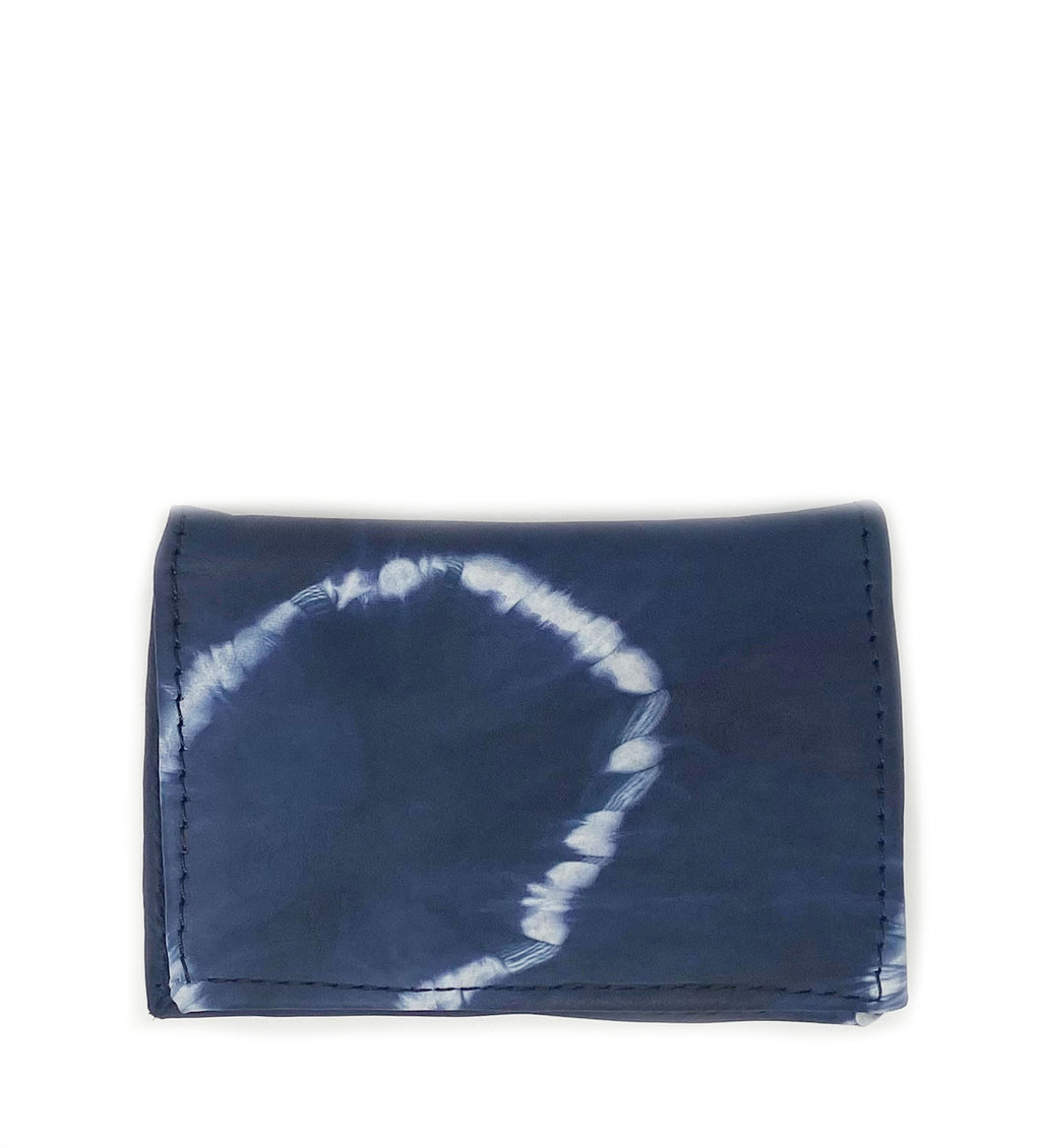 Cassandra Wallet: Navy Circle