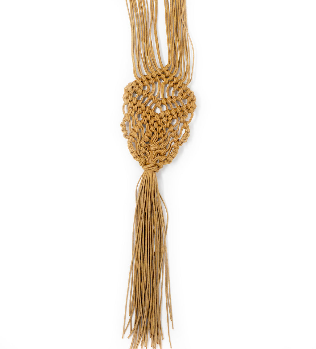 Cay Necklace: Ocre