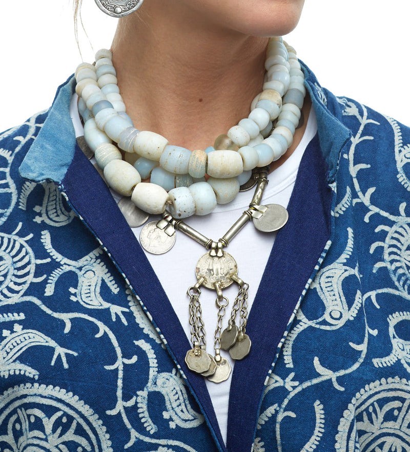 Indian Coin Necklace: Short