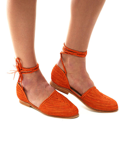 The Island Ankle-Wrap: Clementine