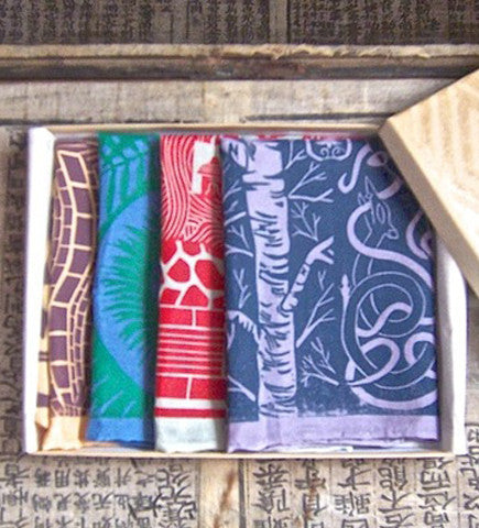 Pocket Square: Compass Collection