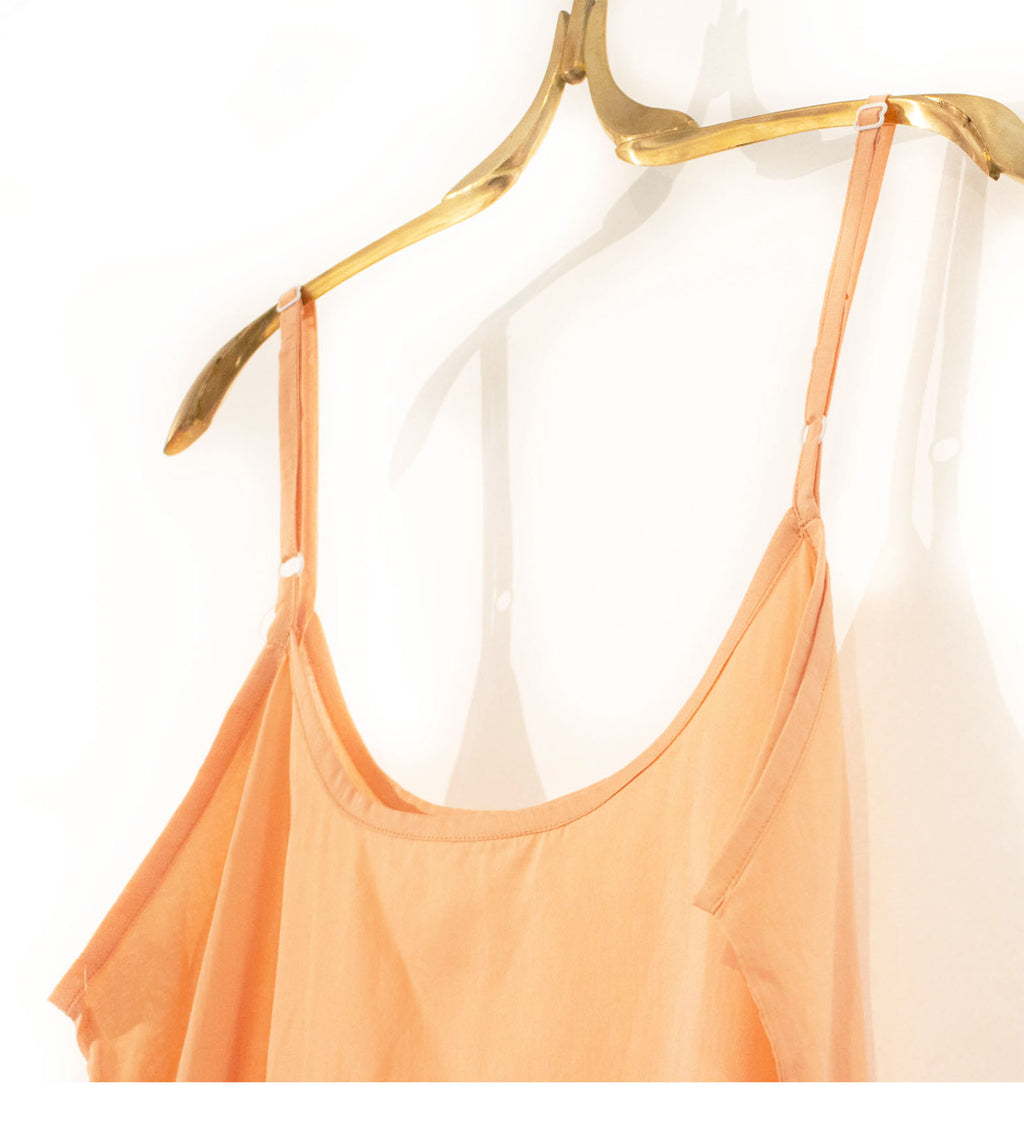 Cotton Slip: Peach