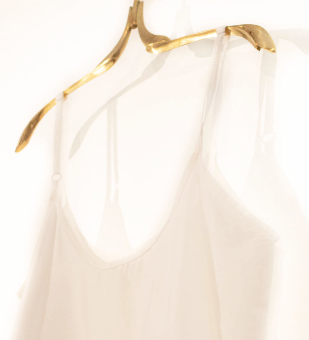 Cotton Slip: White