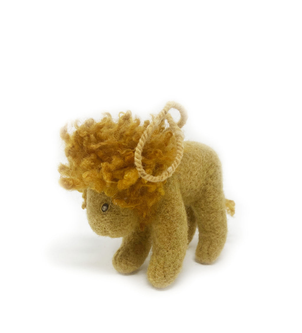 Mini Dandy the Lion Ornament
