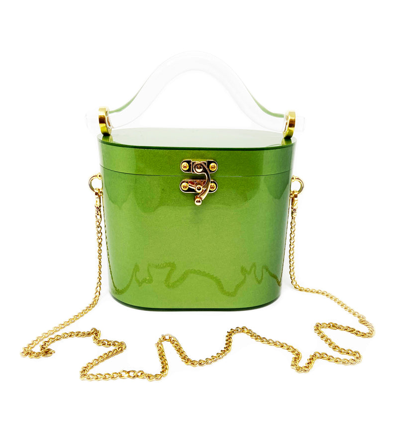 Lime Green Acrylic Bag