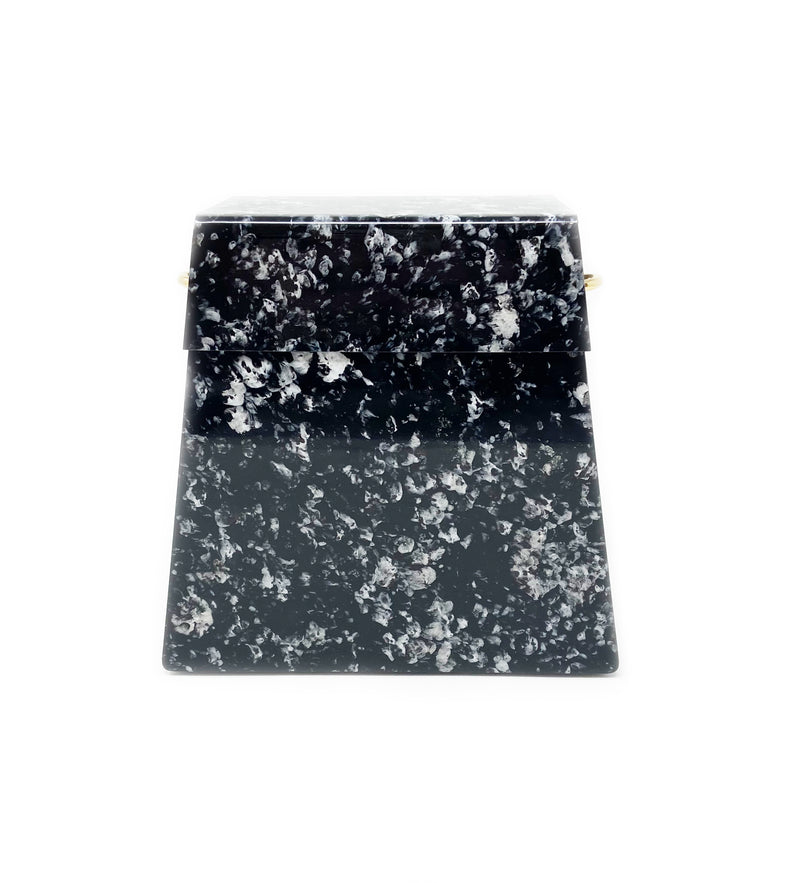 Black and White Marble Acrylic Bag