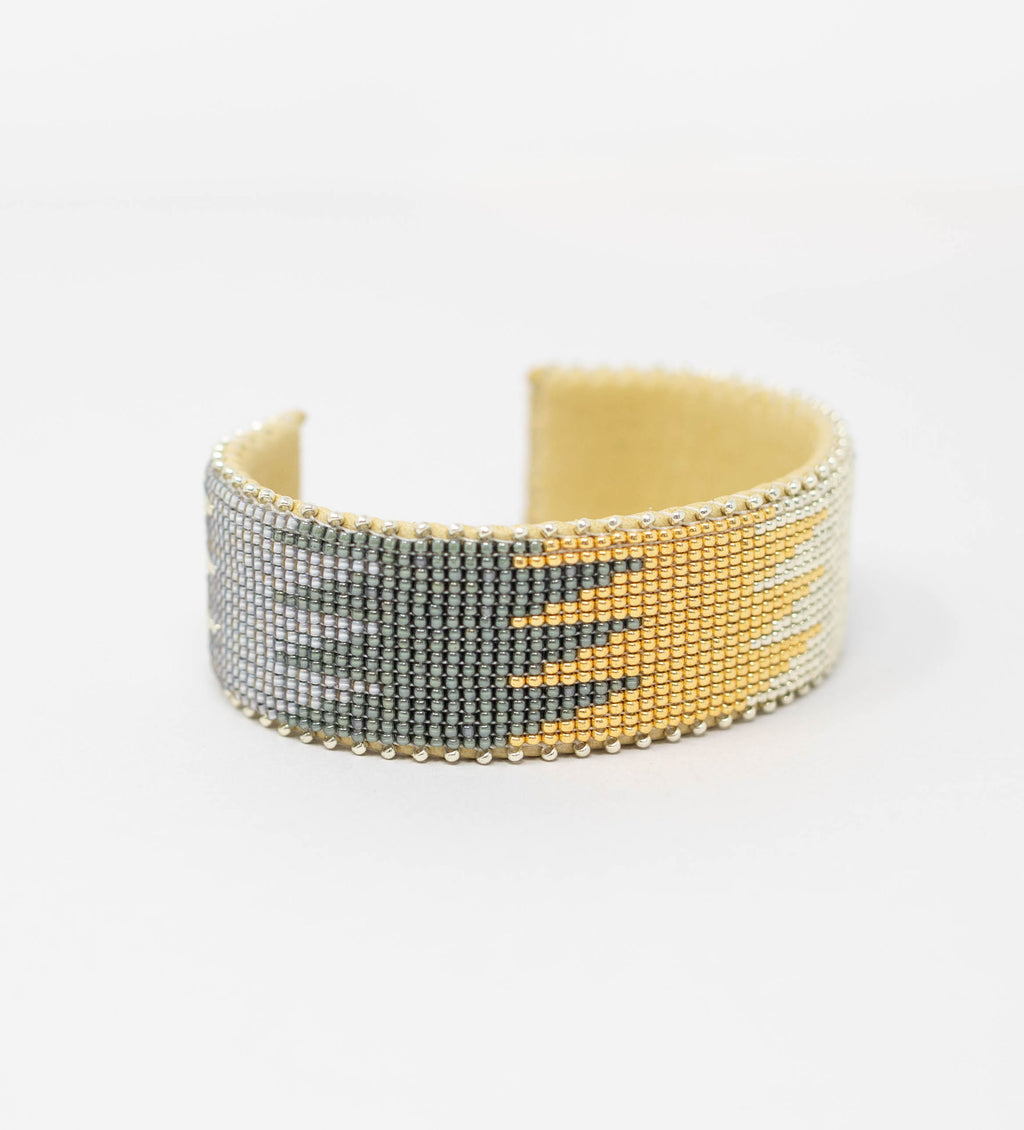 Drew Glass Cuff: Large