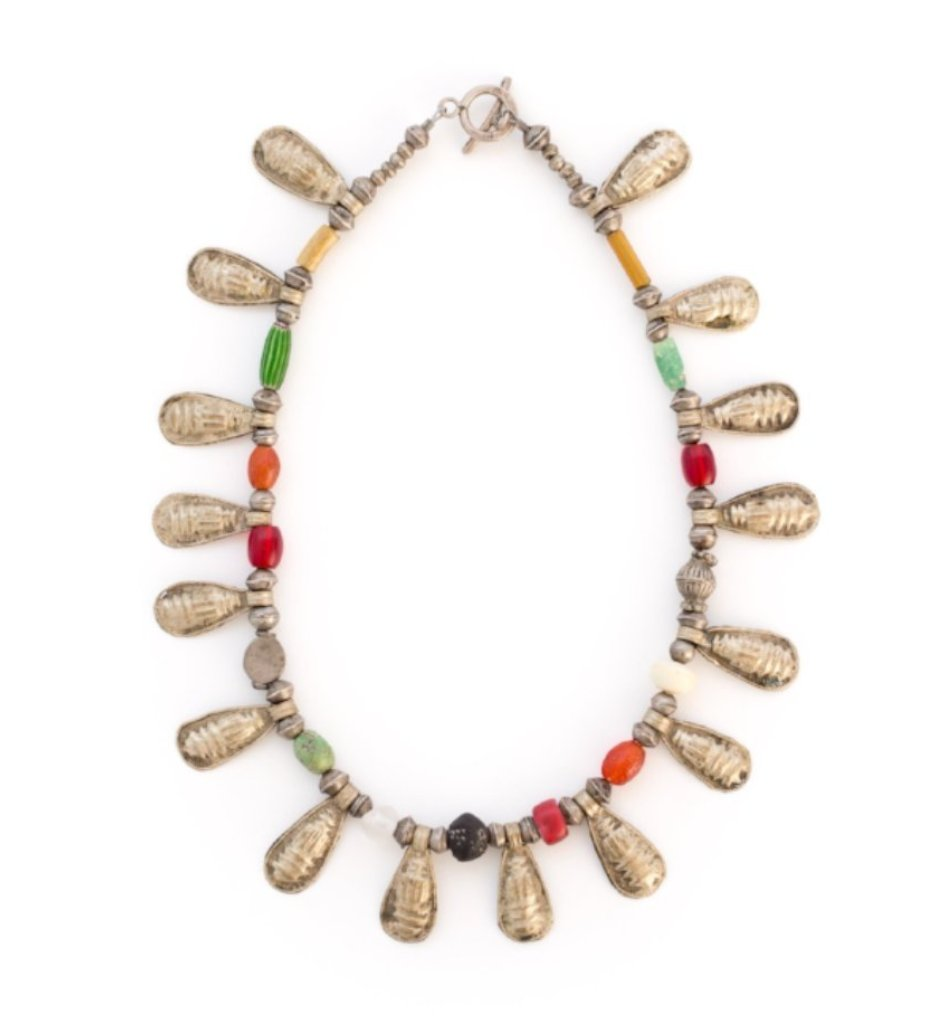 Ethiopian Teardrop Teslum Necklace