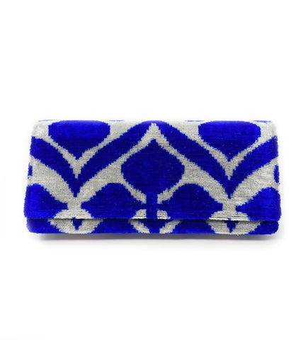Embroidered Clutch: Bronze