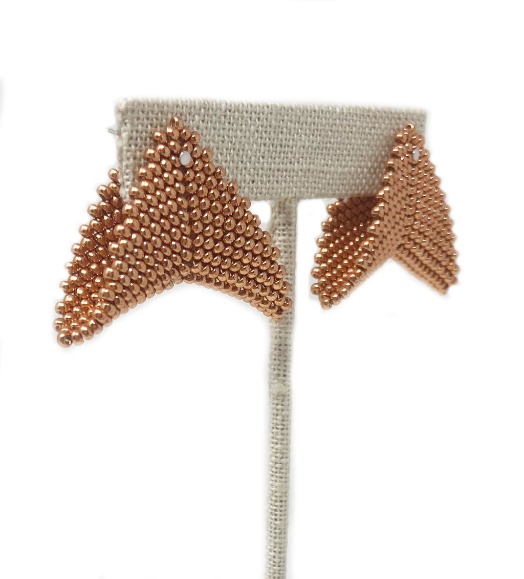 Grace Jones Earring: Rose Gold