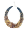 Double Row Horn Link Necklace