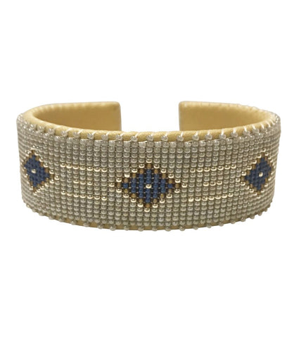 Maasai Large Beaded Bangle