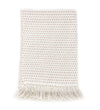 Handwoven Throw: Blush Stitch