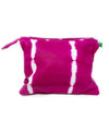All Over Tassel Clutch: Pink