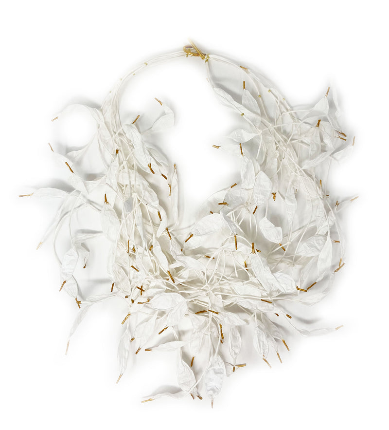 Hope with Feathers: Necklace