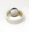 Horn Napkin Ring with Ball
