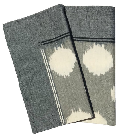 Woven Placemat: Natural Stripe