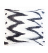 Indigo Pillow with Stripes