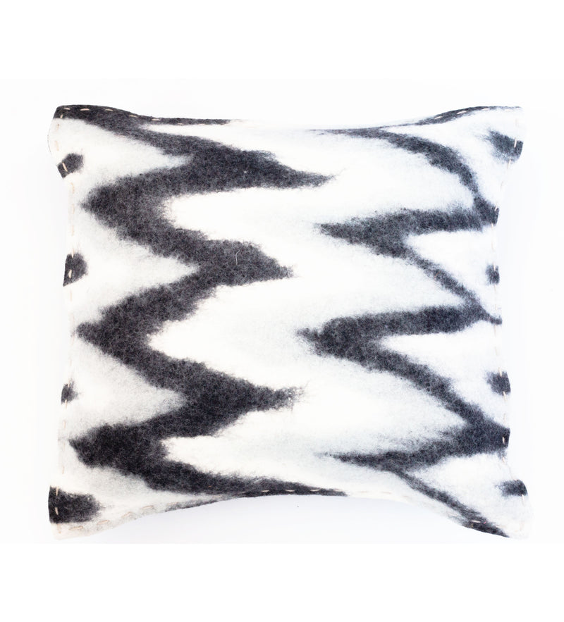 Ikat Felted Pillow