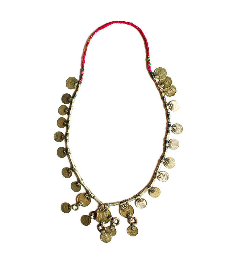 Indian Coin Necklace