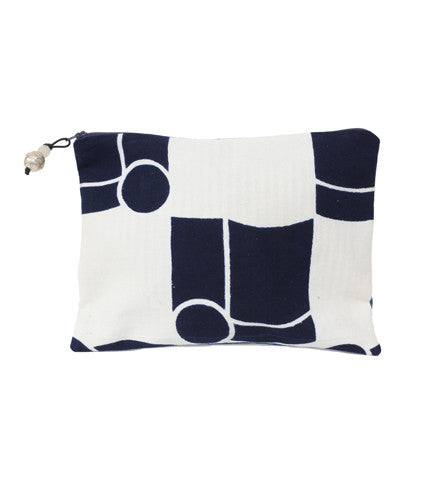 ibu Clutch: Indigo Series