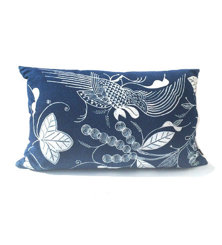 Wonderland Indigo Pillow