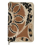 Embroidered IPad Cover: Dark