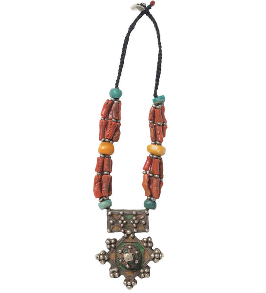 Moroccan Amulet Necklace
