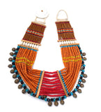 Konyak Tribe Glass Bead Necklace: Small