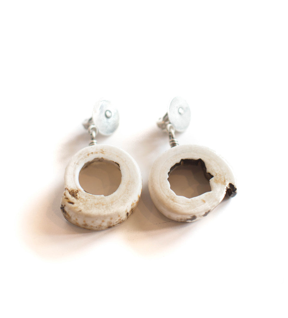 Trade Shell Clip Earring