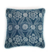 Japanese Indigo and White Pillow