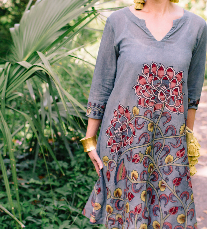 The Kalamkari Dress
