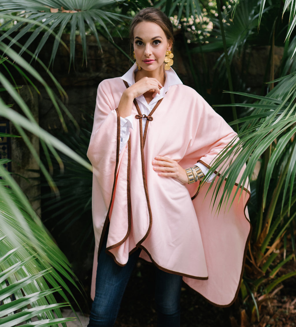 Khadia Cape: Rose Petal