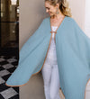 Khadia Cape: Sky Blue