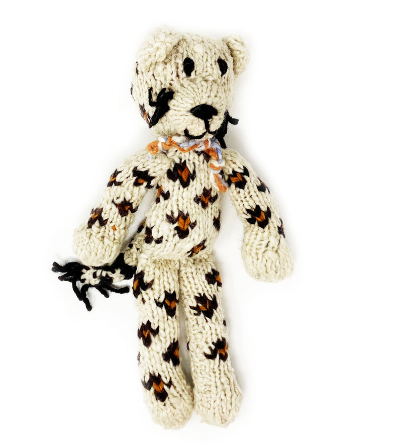 Knitted Animal: Skinny Leopard