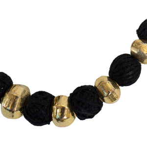 Knotted Choker: Gold Large