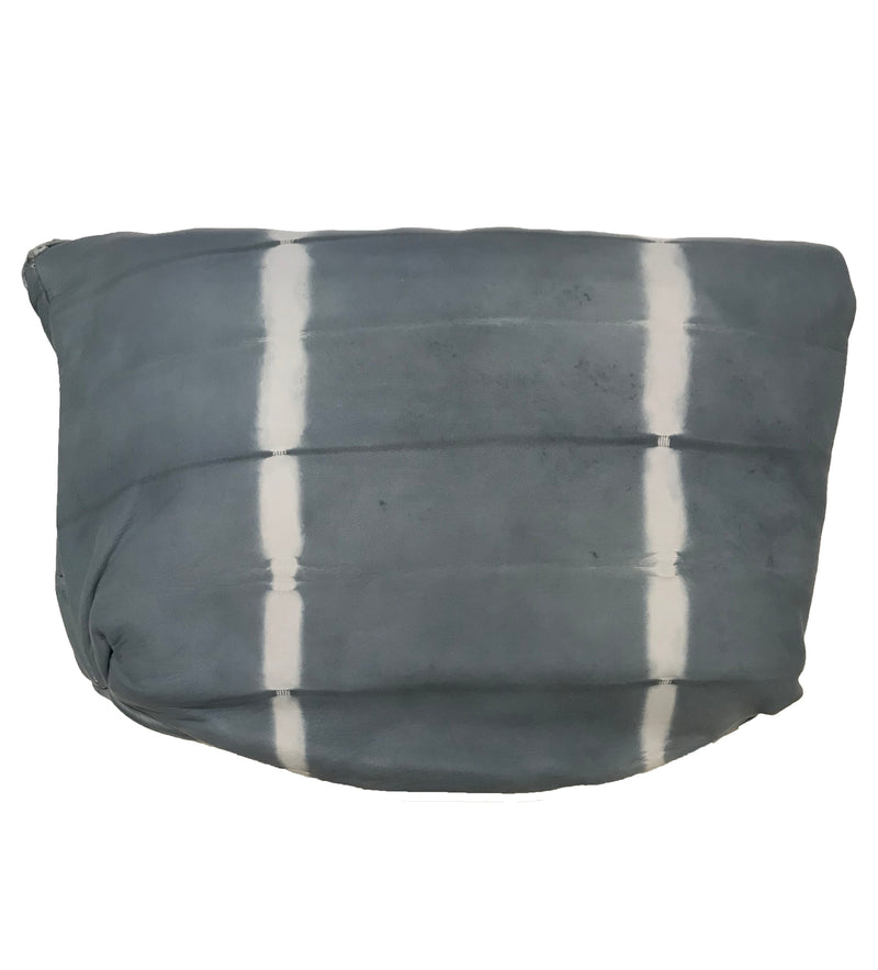 Kuku Fold Over Clutch: Grey