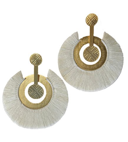 Drop Horn Earring