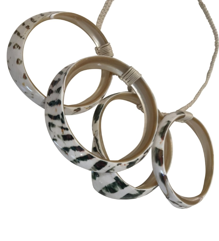 The Iris Apfel Necklace: Stripe