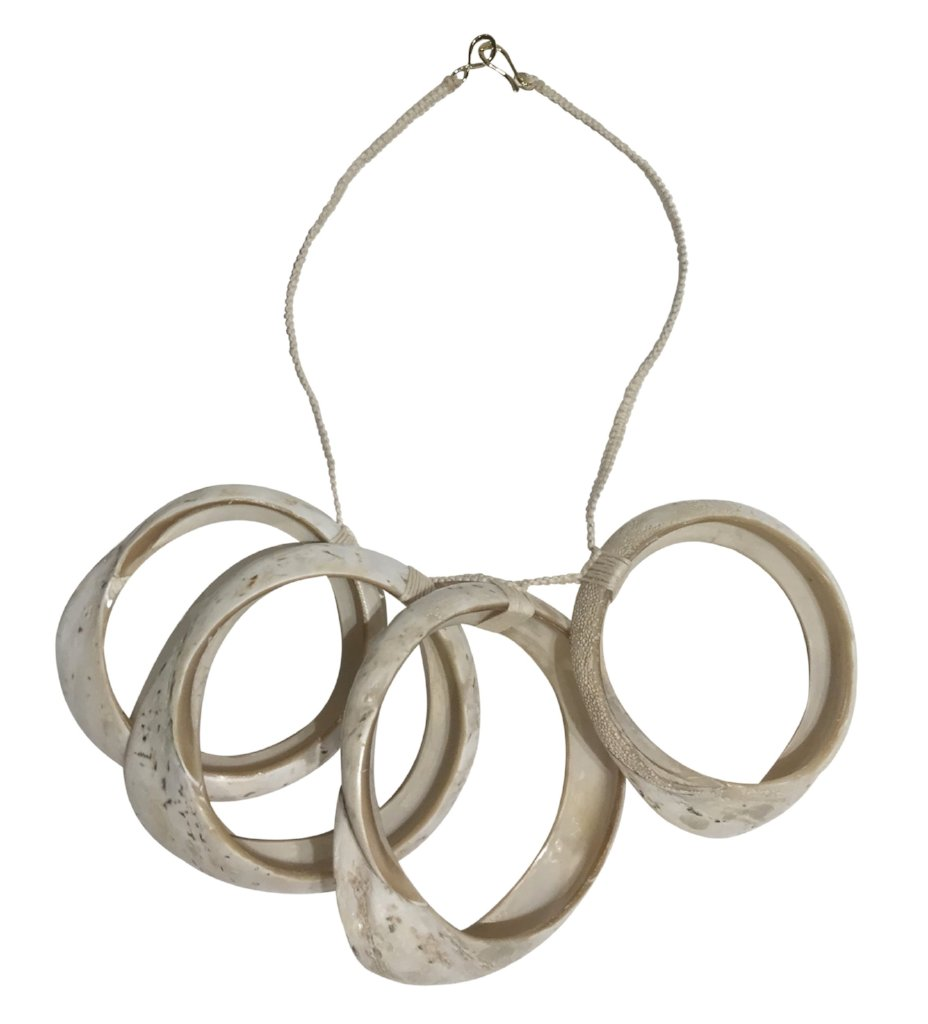 The Iris Apfel Necklace: White